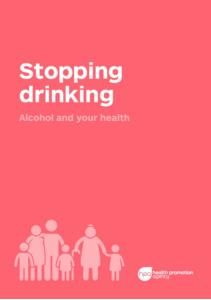Stopping drinking alcohol