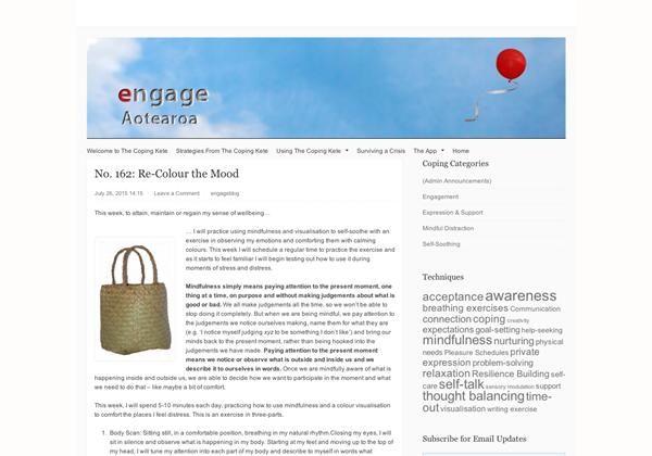 Engage Aotearoa - Coping kete