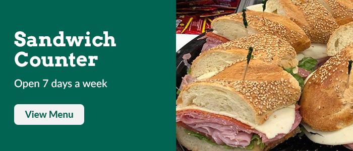 Sandwich Counter
