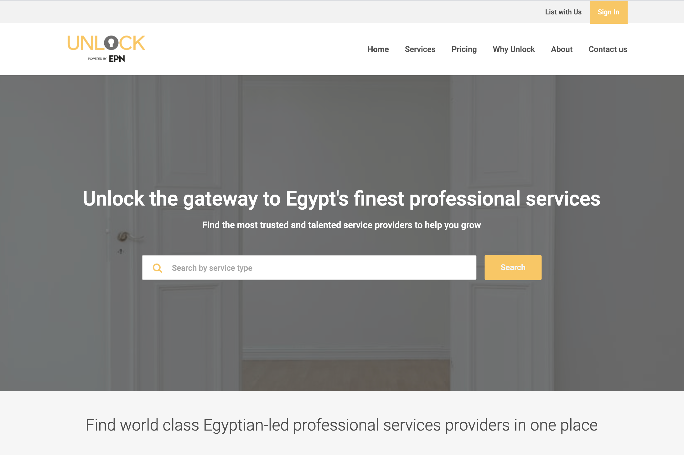 EPN launches UNLOCK, home to Egypt's finest service providers