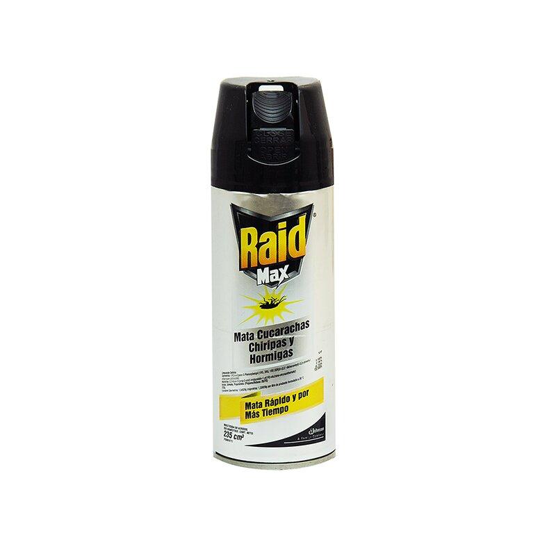 INSECTICIDA RAID MAX CIK 235 ML