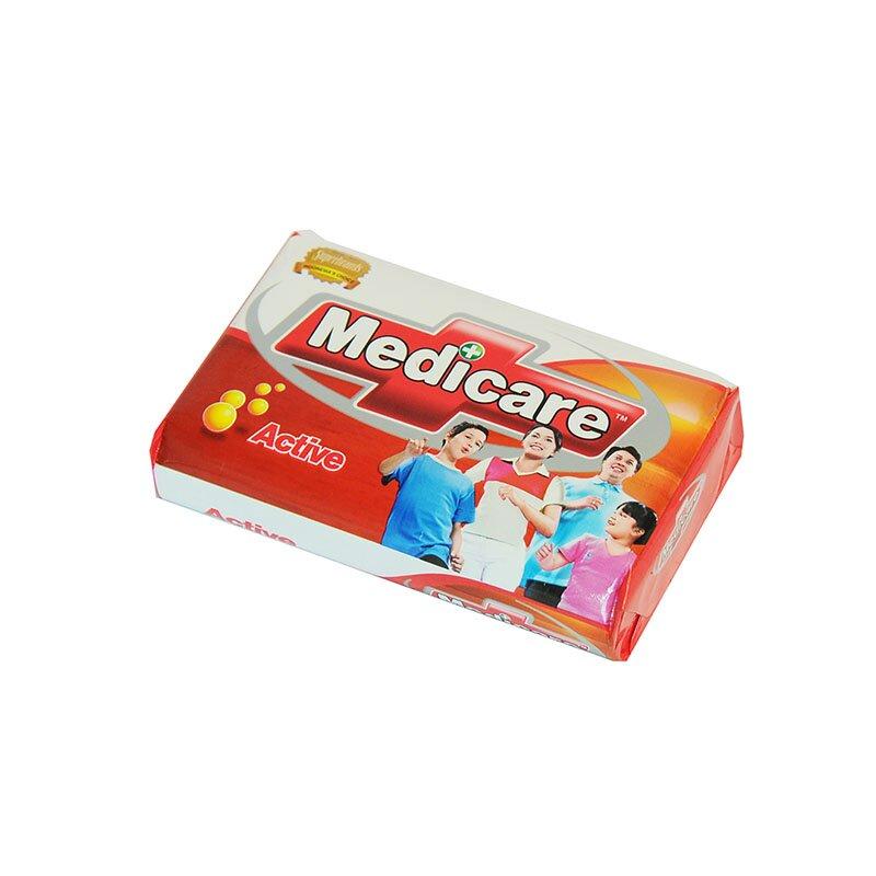 JABÓN ANTIBACTERIAL MEDICARE ACTIVE 85 GR