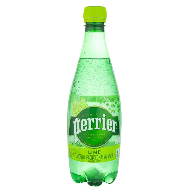 Agua Mineral Con Gas Perrier Con Limon 500ML