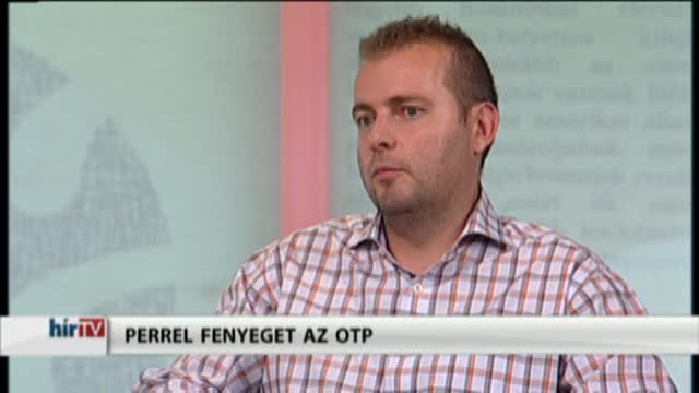 Lapzárta - Perrel fenyeget az OTP