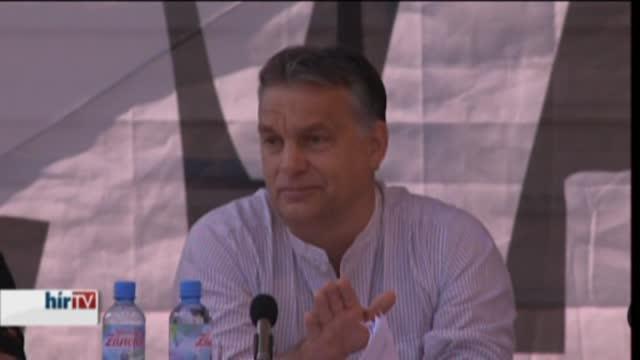 Orbán Viktor Tusnádfürdőn – teljes beszéd