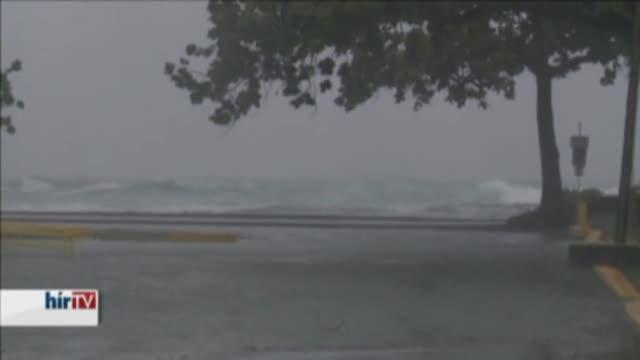 Hurrikán közelít Hawaii felé