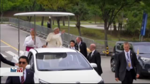 Ázsia – A pápa Dél-Koreában