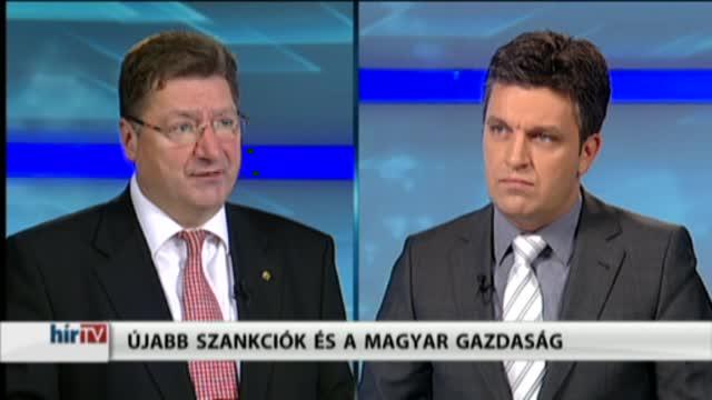 Magyarország élőben – Újabb szankciók és a magyar gazdaság