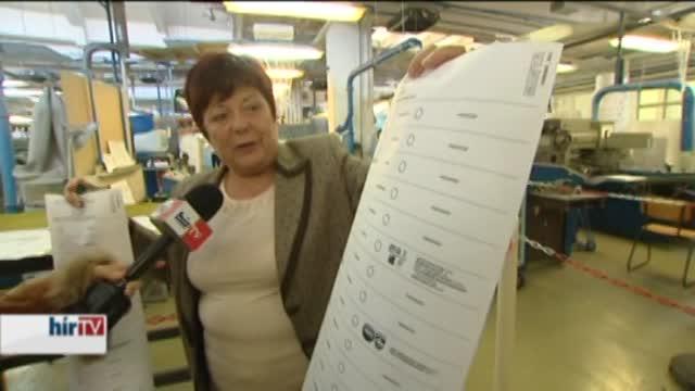Több mint tízezerféle szavazólap lesz
