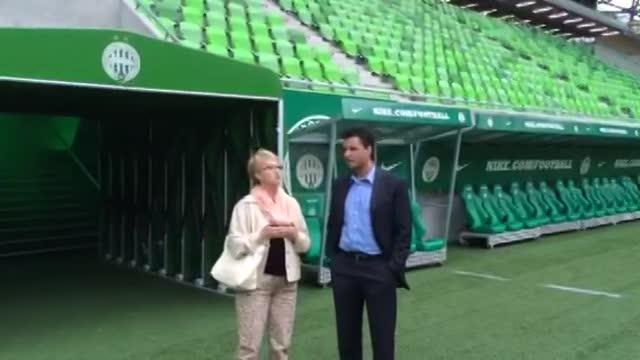 Tim Howard édesanyja pályára lépett a Fradi-stadionban