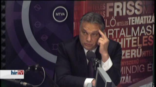 Orbán: Visszavonjuk az internetadót