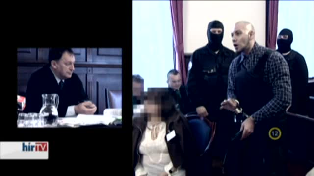 Riasztás - Megfenyegette a bírót a tárgyalóteremben Varga Sándor