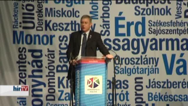 Gyurcsány: Új választást 2016-ban!