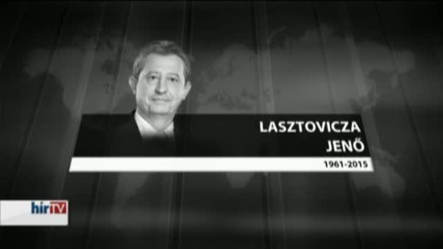 Elhunyt Lasztovicza Jenő fideszes képviselő
