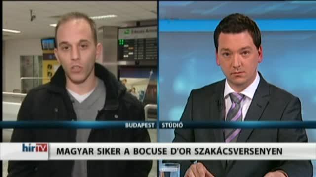 Magyarország élőben – Magyar siker a Bocuse d'Or szakácsversenyen