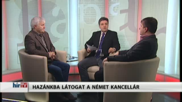Lapzárta – Hazánkba látogat a német kancellár és az orosz elnök