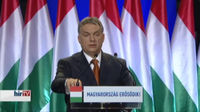 Orbán Viktor évértékelője