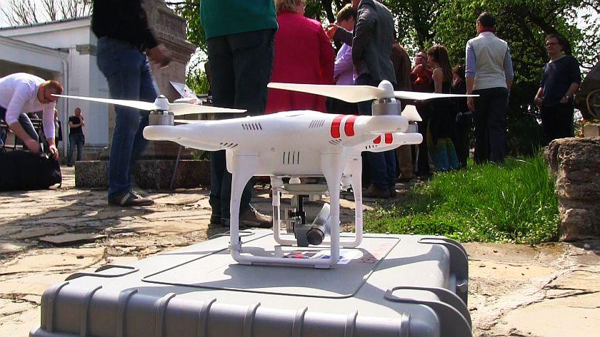 """""""Légből kapott"""" régészet – drónokkal tárják fel a múltat"""