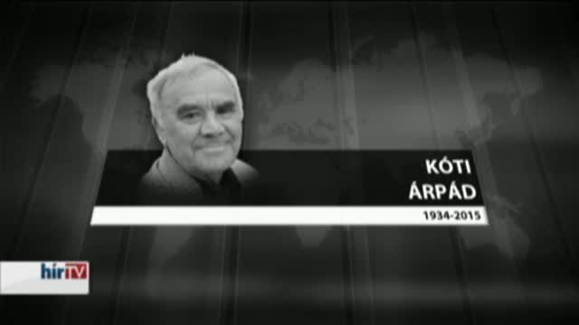 Elhunyt Kóti Árpád