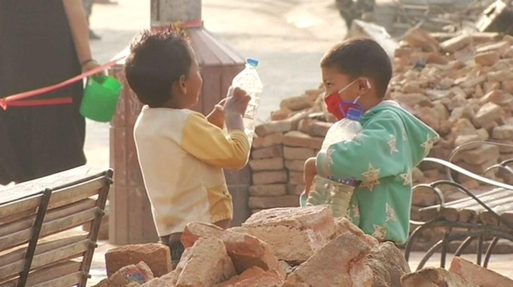 Ázsia – Földrengés Nepálban