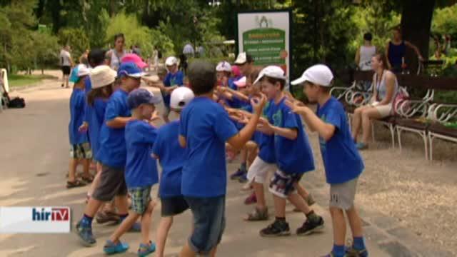 Nyári gyerektábor a Fővárosi Állatkertben