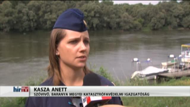 Közös magyar-horvát katasztrófavédelmi gyakorlatot tartottak