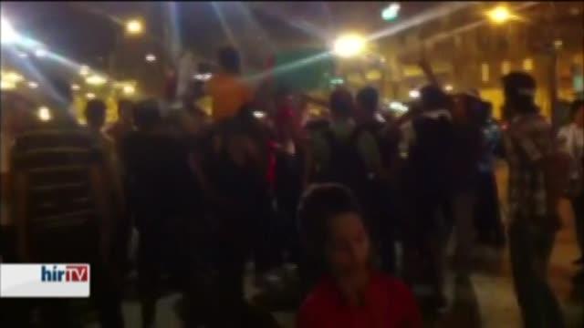 Zendülés volt a Keleti pályaudvarnál – bejelentkezés 22 órakor