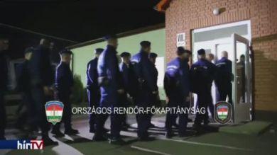 Hazatértek a magyar rendőrök a macedón–görög határról