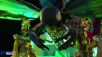 Megkezdődött a riói karnevál