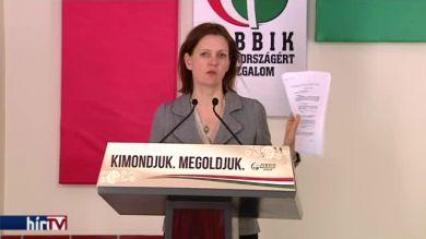Jobbik: határolódjon el a kormány a birtokába került tanulmánytól!