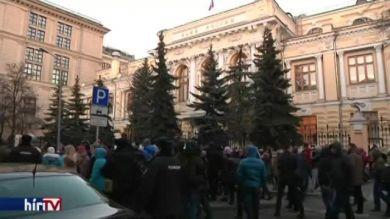 Devizahitelesek tüntetnek Oroszországban