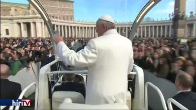 Hamvazószerda a Vatikánban