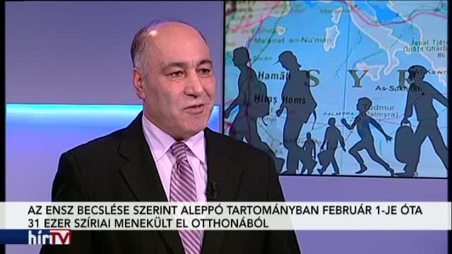 Magyarország élőben – Humanitárius katasztrófa fenyeget a török-szír határon
