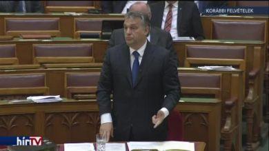 Orbán napirend előtt szólalhat fel