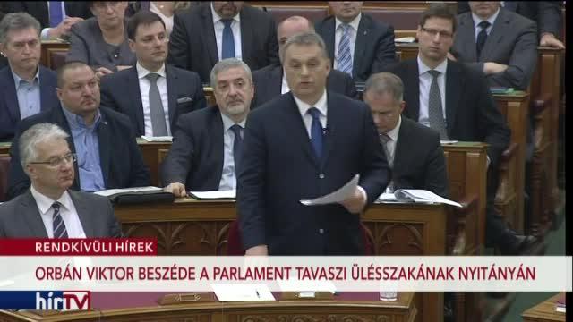 Orbán Viktor beszéde és a frakcióvezetők reakciói – 1. rész