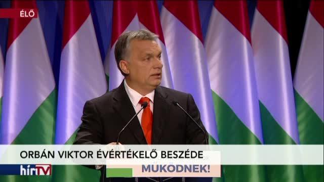 Orbán Viktor évértékelő beszéde 1. rész