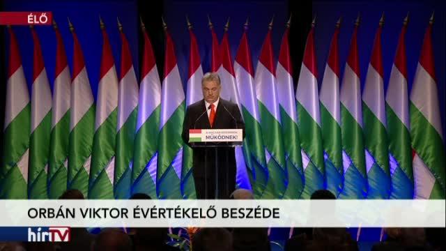 Orbán Viktor évértékelő beszéde 2. rész