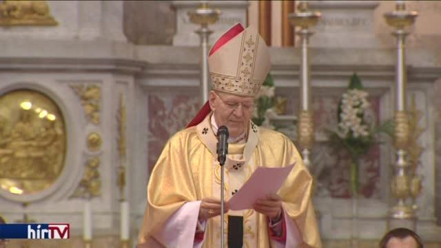 Húsvéti szentmise az Esztergomi Bazilikában