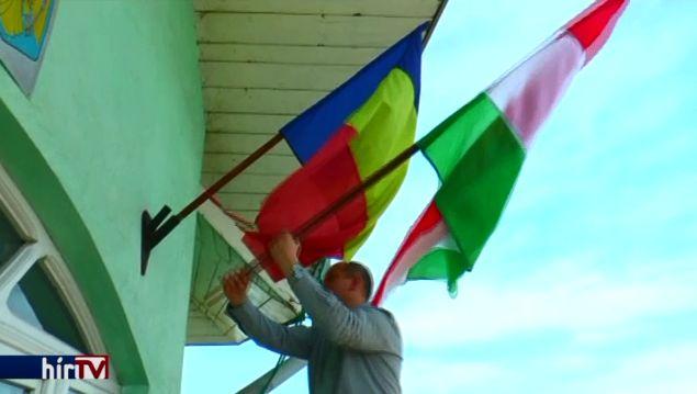 20 ezer euróba került a magyar zászló fennhagyása