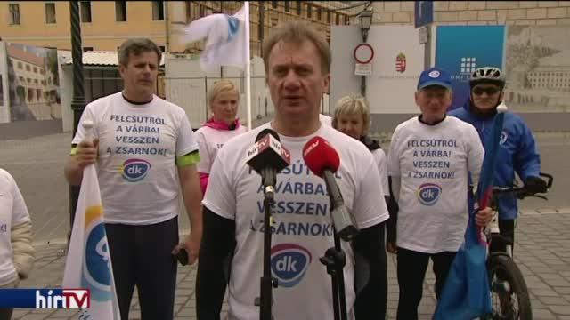 """""""A milliárdos látványberuházás"""" ellen tiltakozik a DK"""