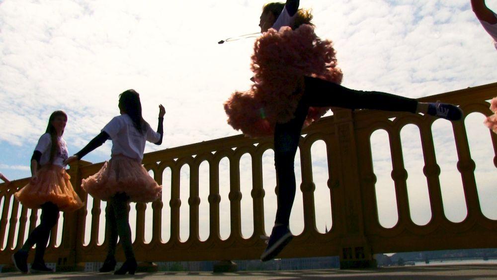 Flashmob a Duna felett a tánc világnapján