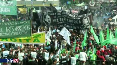 Százezrek vonultak utcára Buenos Airesben