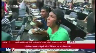 Tüntetők törtek be a parlamentbe