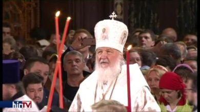 Orotodox húsvéti mise Moszkvában