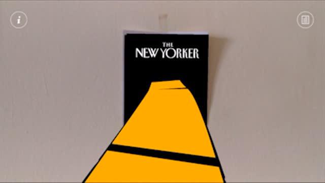 Ilyen a The New Yorker kiterjesztett-valóság címlapja