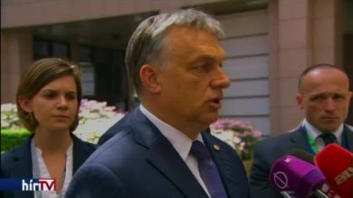 Orbán Viktor miniszterelnök a brit népszavazás tanulságairól