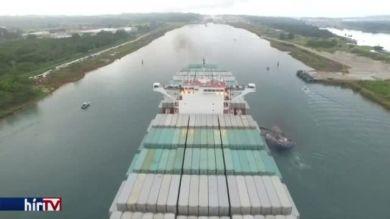 Felavatták a kiszélesített Panama-csatornát