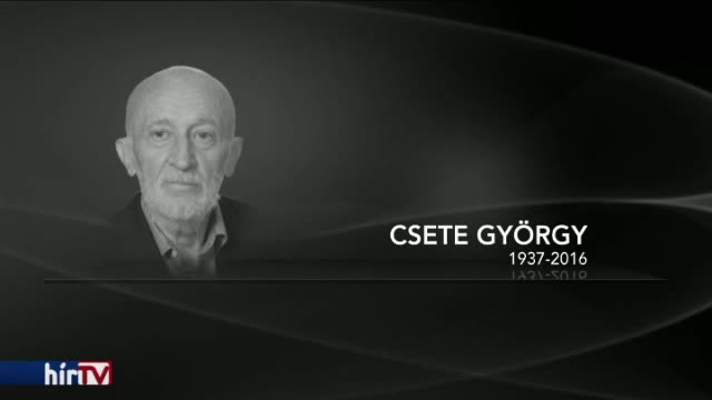 Elhunyt Csete György