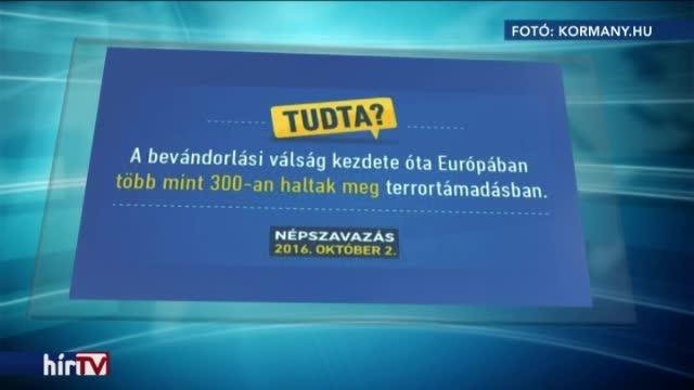 A terrortámadások áldozatainak számával kampányol a kormány