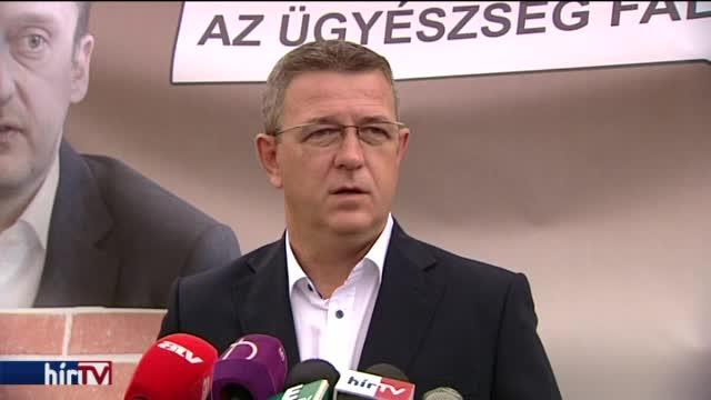 Szilágyi: A Fidesz nyugodt lehet, az ügyészség falaz neki